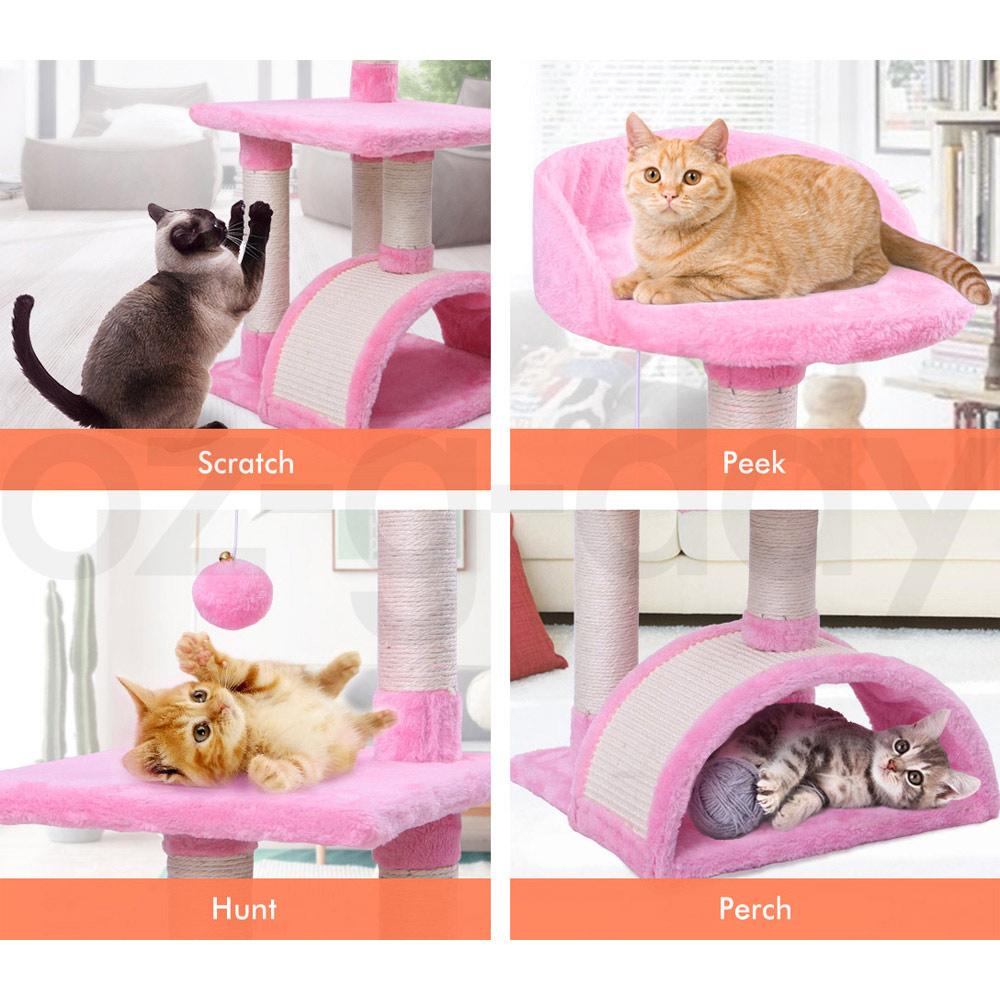 BEASTIE-Cat-Tree-Scratching-Post-Scratcher-Tower-Condo-House-Furniture-Bed-Stand thumbnail 26