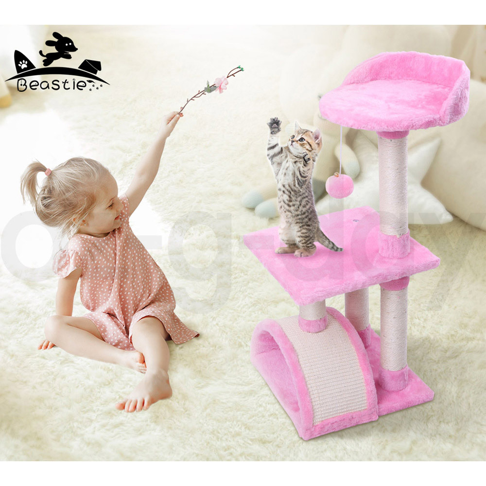 BEASTIE-Cat-Tree-Scratching-Post-Scratcher-Tower-Condo-House-Furniture-Bed-Stand thumbnail 29